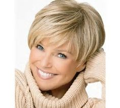 Bildergebnis für Short Haircuts for Women Over 50 Back View