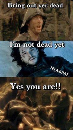 I laughed, then I died a little inside.