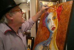 Artist Laurens Barnard ( laubar ) @ Studio www.laurensbarnard.com Funky Furniture, Good Company, Smart Casual, Studio, Live Music, Artist, Painting, Artists, Painting Art