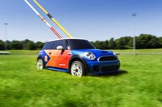 """BMW MINI (Best): The remote controlled mini Mini used for """"javelin, discus and hammer retrieval"""" during Athletics was not only brilliant brand placement, but also super creative problem solving. Wanna bet that in 2016 the IOC tries to sell a remote controlled javelin retrieval sponsorship?"""