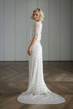 1920 Style Wedding Dress - Women's Dresses for Weddings Check more at http://svesty.com/1920-style-wedding-dress/