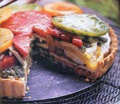 Heirloom Tomato Tart