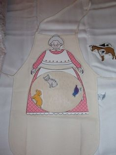 Kids apron for retelling