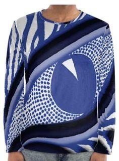 Camiseta manga larga, colección limitada, Serrano Bou Collection, hecha a mano 100% algodón natural