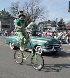 Brookside St. Patrick's Day Parade - Saturday, March 15, 2014 Start Time: 2:00 p.m. Theme: Shamrock Shenanigans - The Parade Route: Start at 65th and Wornall North on Wornall to 63rd St. East on 63rd St to Main South on Main St. to Meyer Blvd. West on Meyer Blvd. to Brookside Rd.