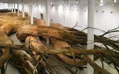 Amazing #installation by Henrique Oliveira. #art