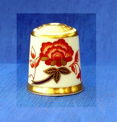 ROYAL CROWN DERBY COLLECTION THIMBLE....BALI