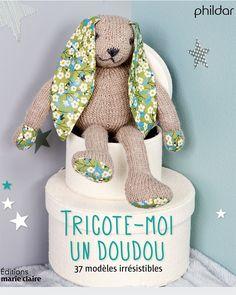 Tricoter un doudou lapin - Marie Claire