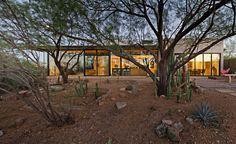 Usual House — Delightfully Dusky: Desert setting creates the...