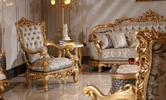 Luxury Sofa, Wingback Chair, Sofas, Accent Chairs, Furniture, Home Decor, Couches, Upholstered Chairs, Decoration Home