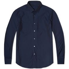 Lanvin fitted signature shirt