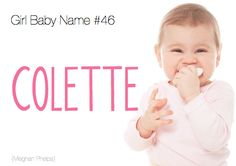 Baby Name:Colette