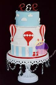 hot air balloon cake - Recherche Google