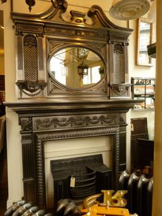 Ancient Antique Fireplace to Bring Back Your Old Memories: Stunning Victorian Antique Fireplaces Polished Artistic Design Ideas ~ nabilags.com Fireplace Inspiration