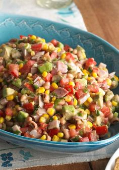Cowboy Salsa – Check out this smart, Healthy Living way to enjoy food that could be at home on the range—a big bowl of ham, black-eyed peas, and vegetables pulled together with zesty dressing.
