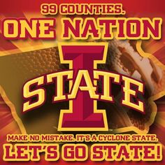 99 Counties... It's a Cyclone State