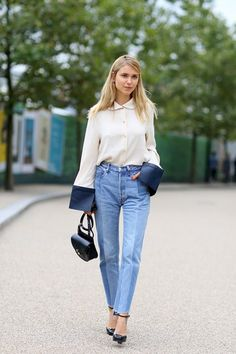 Vite cool: The Vetements Look - jeans (rigid, non-stretch denim is here to stay).