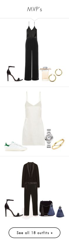 """""""MVP's"""" by baldwincaleigh ❤ liked on Polyvore featuring H&M, Topshop, Zara, Chloé, La Perla, adidas Originals, Cartier, Eddie Borgo, Yves Saint Laurent and RE/DONE"""