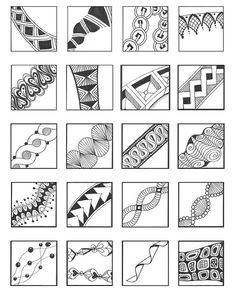 Unglaublich viele Muster
