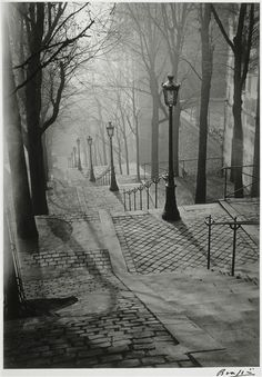 Brassai - Got to go back to Paris to take photographs like this one...