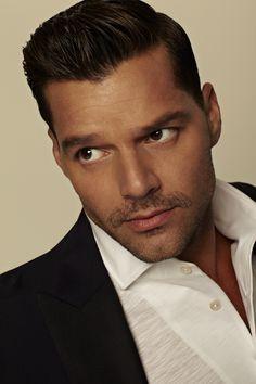 Ricky Martin// me encanta el peinado!!