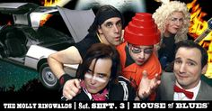 I just entered for a chance to win 2 tickets to The Molly Ringwalds at HOB Chicago on September 3rd + Karma Kash!