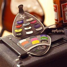 Authentic guitar pick wallet, designed by a passionate guitarist, for guitarists Plectrum Wallet & 20 Luxury Guitar Picks guitar accessories Guitar Art, Music Guitar, Playing Guitar, Guitar Room, Guitar Tattoo, Guitar Pics, Guitar Painting, Guitar Chords, Music Stuff