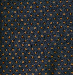 Civil war reproduction blue with orange dots. $8.50, via Etsy.