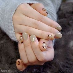 Nail Art, Women, lifestyle, Cute Gel Nail Art Ideas For Simmer Cute Gel Nails, Gel Nail Art, Love Nails, Pretty Nails, Nail Polish, Art Nails, Korean Nail Art, Japanese Nails, Neutral Nails