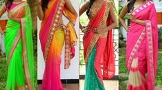 #SareeDraping Styles For Party |5 Gorgeous Ways To Wear #Saree with Different Pallu Styles to Look Slim
