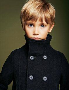Esprit marin. Harper : caban en laine, Armani Junior.