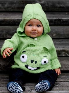 Angry Birds® -neulehuppari Novita Nalle || from Novita knits