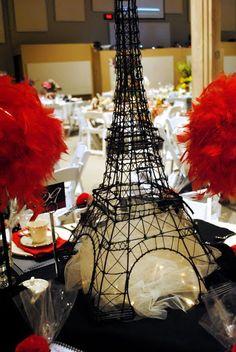 Calico and Cupcakes: Oooo-La-La. A Tea Table in Paris.