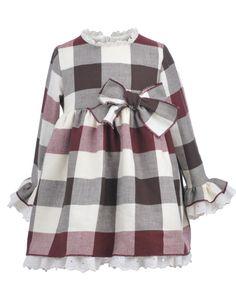 Vestidos Bebe Archivos - La Ormiga Baby Girl Fashion, Toddler Fashion, Toddler Outfits, Kids Outfits, Kids Fashion, Womens Fashion, Frocks For Girls, Little Girl Dresses, Baby Girl Dress Patterns