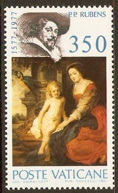 Vatican City 1977 Rubens Anniversary.