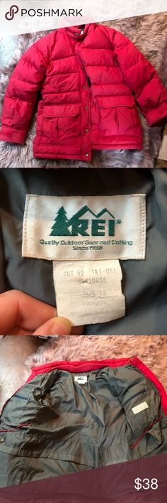 REI Down Jacket Hot Pink Down Winter Jacket REI Jackets & Coats