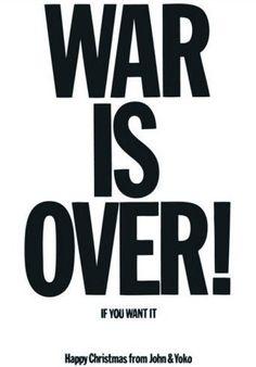 Poster der Friedenskampagne aus dem Jahr 1969