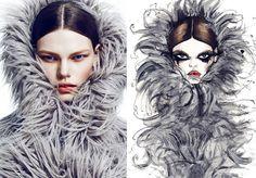 Chris Nicholls, Fashion Canada Magazine, Kelly Mittendorf