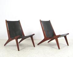 AreaNeo | Hunting chairs Uno & Oesten Kristiansson 1954 - Luxus Vittsjoe - Hunting chair