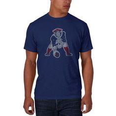 New England Patriots Men s XL 47 Brand Bleacher Blue T-Shirt Tee New  England Patriots 01ecc8e0b