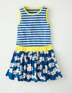 I've spotted this @BodenClothing Jolly Jersey Vest Dress Bright Blue Pansy
