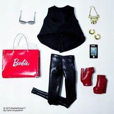 #barbie #barbiestyle #black