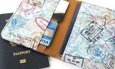 10 Handmade Passport Covers