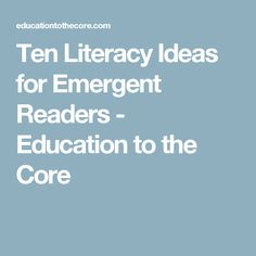 emergent literacy in preschool new zealand essay Lack of the preschool teachers' appreciation of emergent literacy rendered them unable to fully provide environments and practices that support introduction background: the concept emergent literacy was introduced in 1966 by a new zealand researcher marie clay in her doctoral.