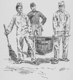 Cleaning duty in fatigues MEMOIRS OF SERGEANT BOURGOGNEMEMOIRS OF SERGEANT BOURGOGNE  (1812-1813)   (1812-1813)