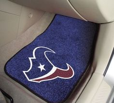 "NFL - Houston Texans 2-pc Carpet Car Mat Set 17"""" X 27"""""