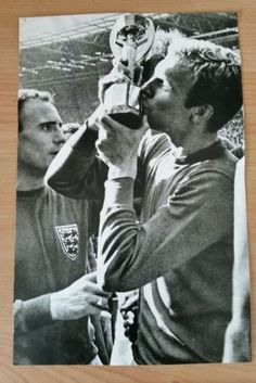 1966 #world cup #bobby moore handsigned b&w #magazine picture. ,  View more on the LINK: http://www.zeppy.io/product/gb/2/231999001358/