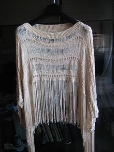 glitter summer poncho, made by order