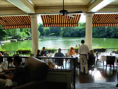 The Boathouse restaurant in Central Park, NYC