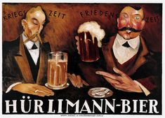 "Bar artwork ""Hurlimann Bier, Vintage Poster"" wall art from Great BIG Canvas Wall Art Prints, Poster Prints, Canvas Prints, Poster Wall, Sous Bock, Most Famous Artists, Beer Poster, Great Friends, Vintage Advertisements"